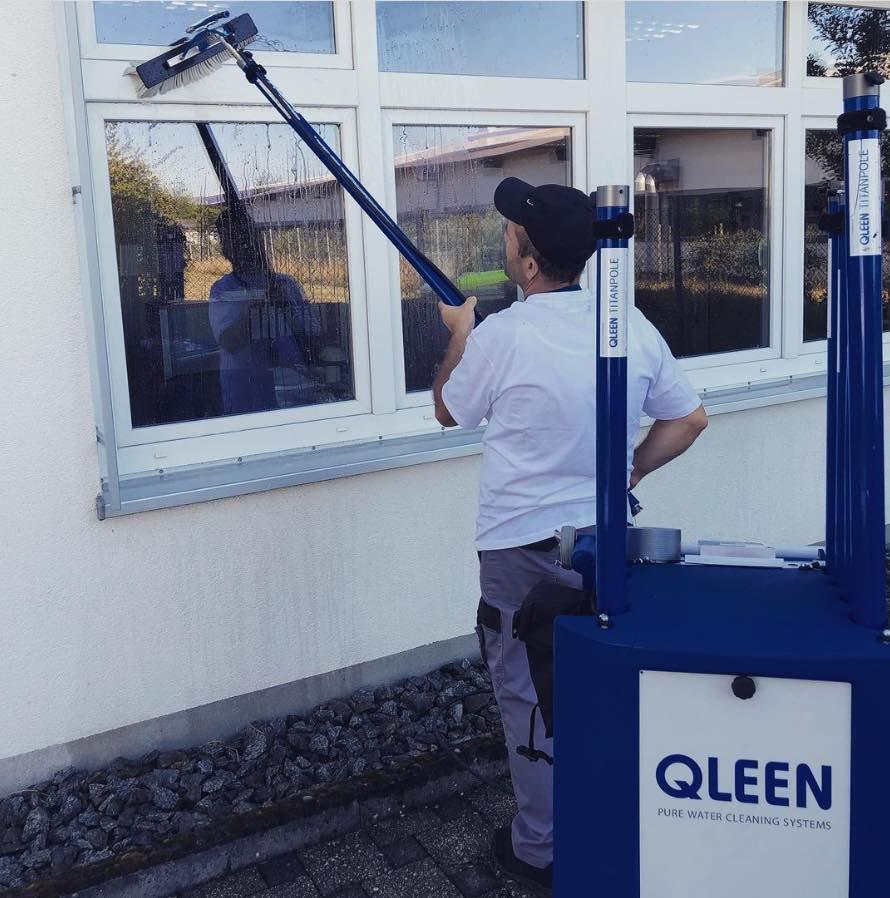 Gebäudereinigung Glasreinigung